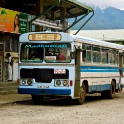Bus local, Wellawaya
