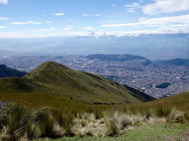 Quito depuis le TeleferiQo