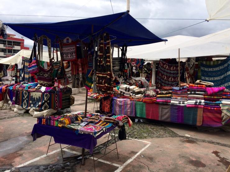 Marché de Otavalo bondé