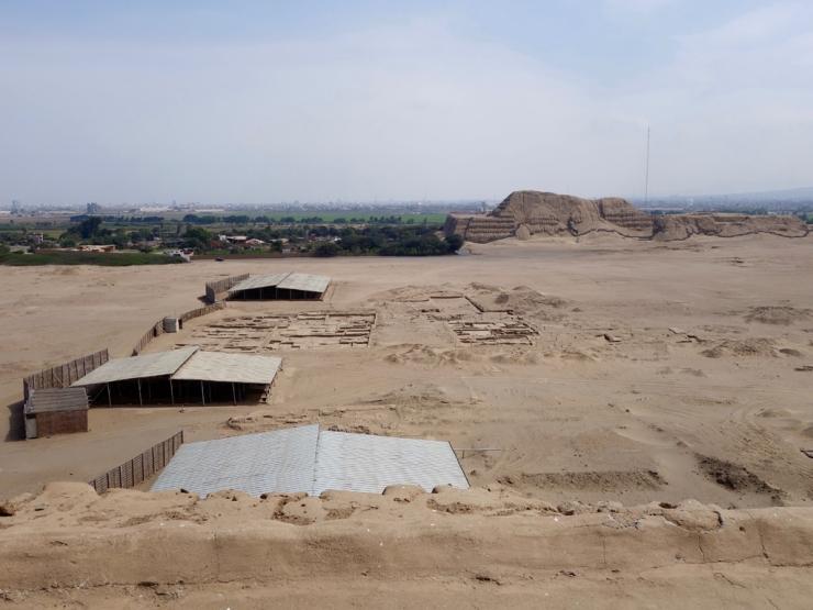 Tas de sable (Huaca del Sol)