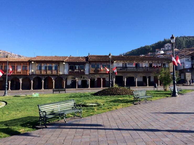 Plaza de Armas tôt le matin