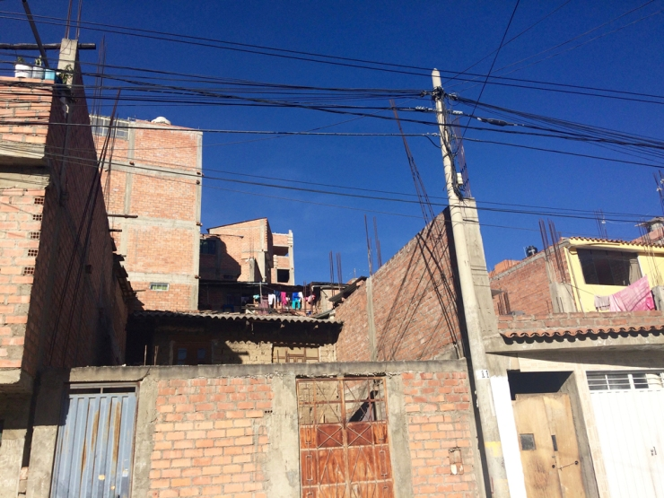 La splendide ville de Huaraz