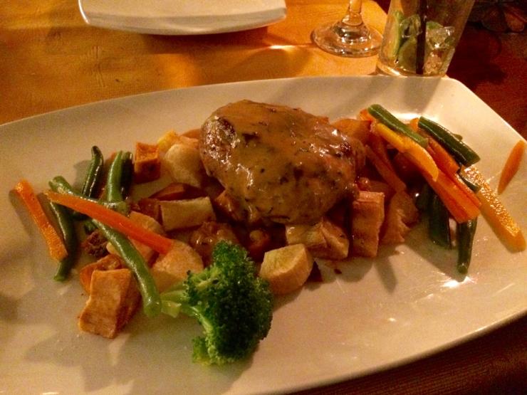 Un filet et des légumes !
