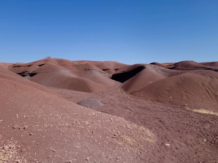 Mini-dunes