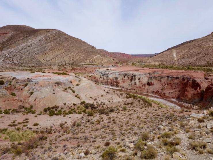 Les quebradas au nord de Salta