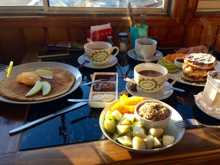 Oh, un vrai petit-déjeuner !