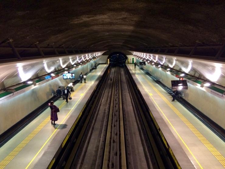 Assez récent ce métro !