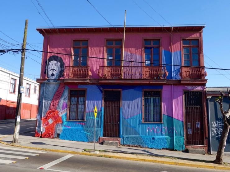 ça c'est une maison colorée !