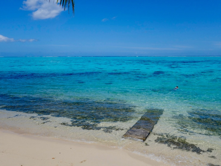 Autre plage sublime et bondée
