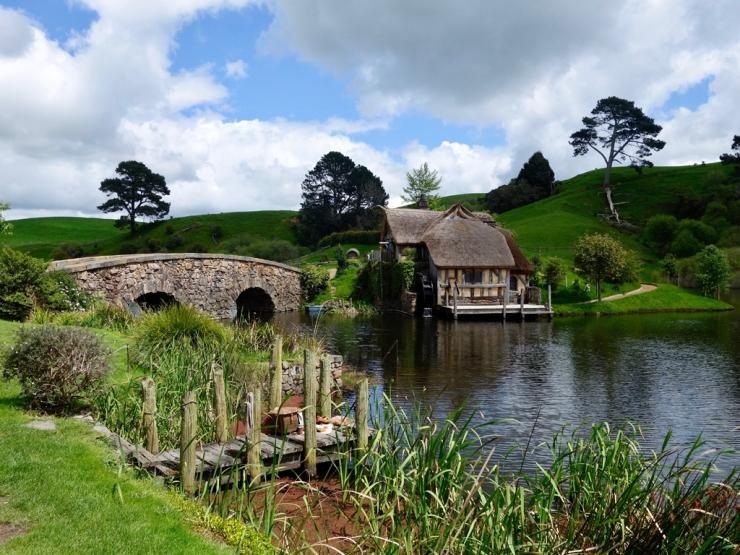 Le moulin et le pont