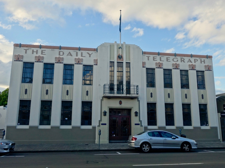 Art déco à la néo-zélandaise