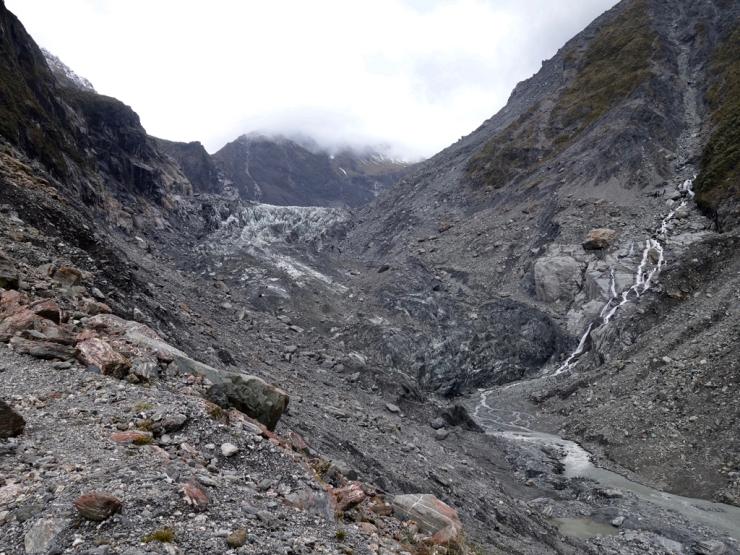 Pauvre glacier tout sale